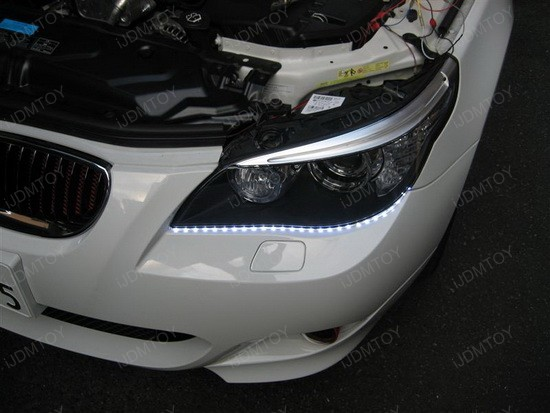 BMW - 535i - DRL - LED - strip - lights - 1